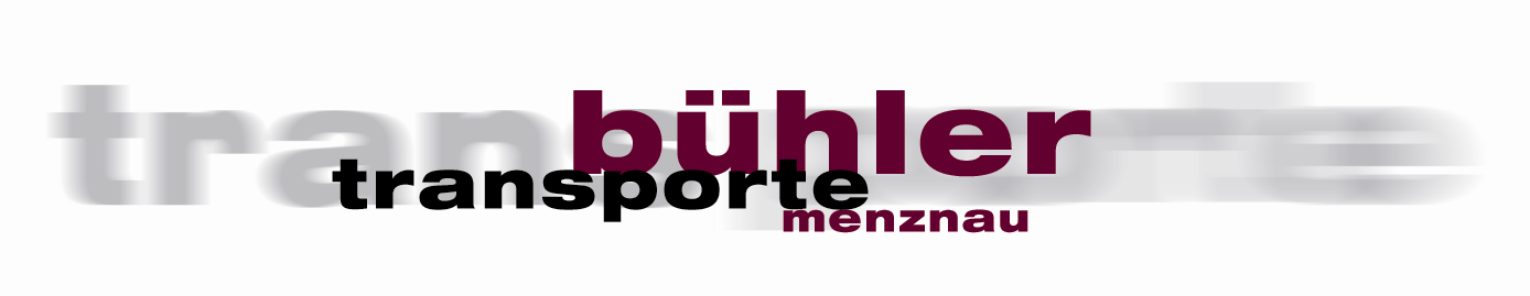 Logo Bühler Transporte Menznau